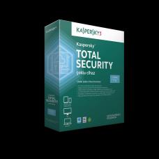 Kaspersky Total Security - 3 kullanıcı - kutulu