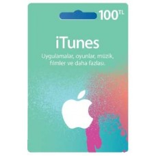 iTunes hediye kartı - 100 TL