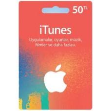 iTunes hediye kartı - 50 TL
