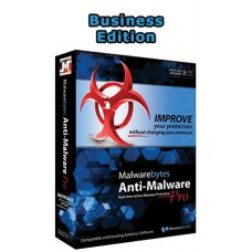 Malwarebytes Anti-Malware Business Edition (1 yıl)