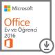Microsoft Office Ev ve Öğrenci 2016 - online lisans