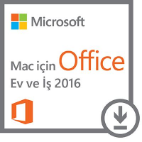 Microsoft Office Ev ve İş - Macintosh - 2016 - online lisans