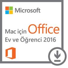 Microsoft Office Ev ve Öğrenci 2016 - Macintosh - online lisans